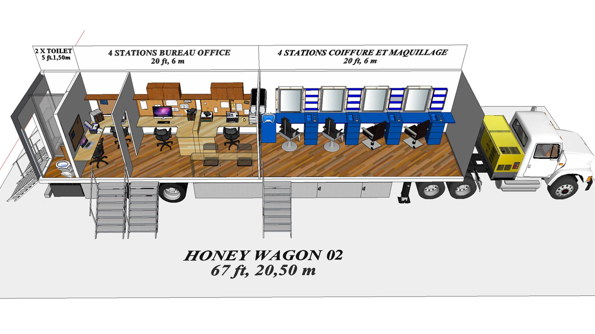 Honey Wagon 02 modèle 3D