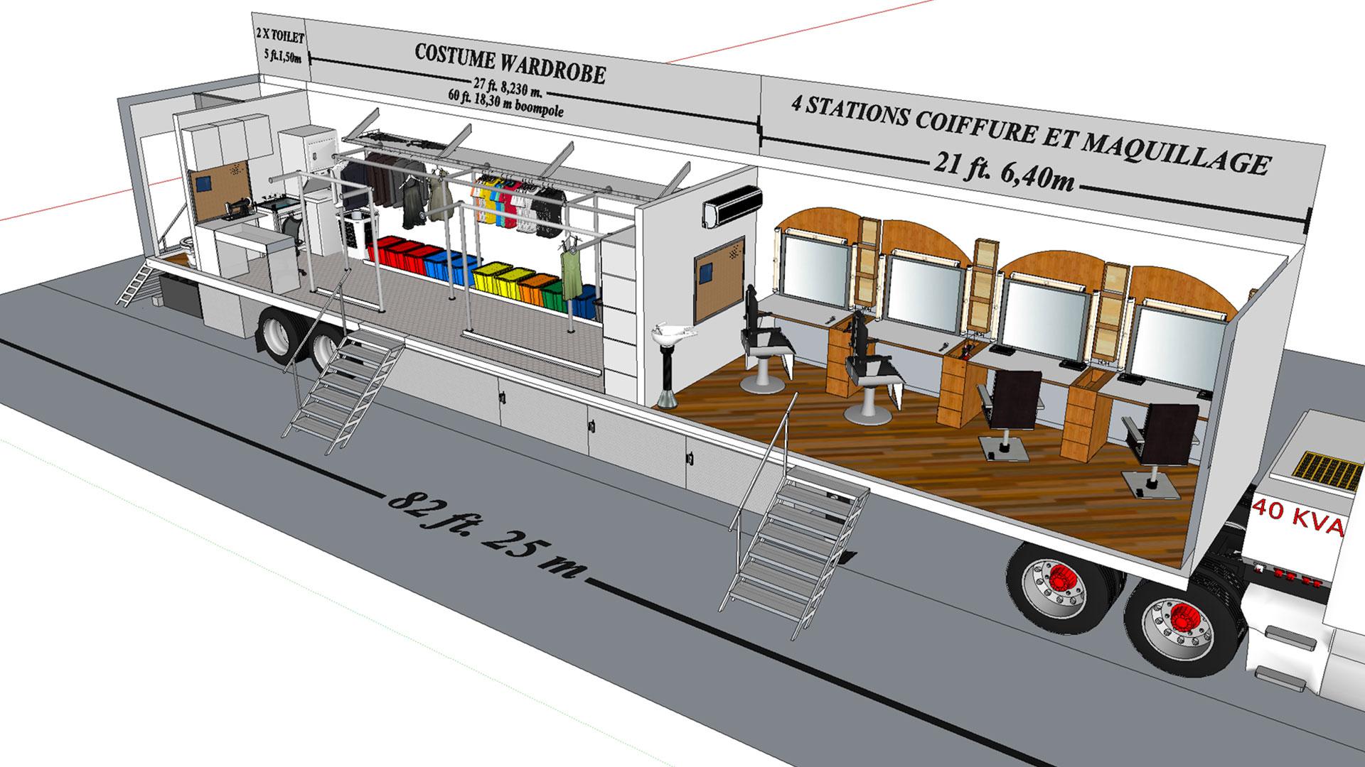 Honey Wagon 31 modèle 3D