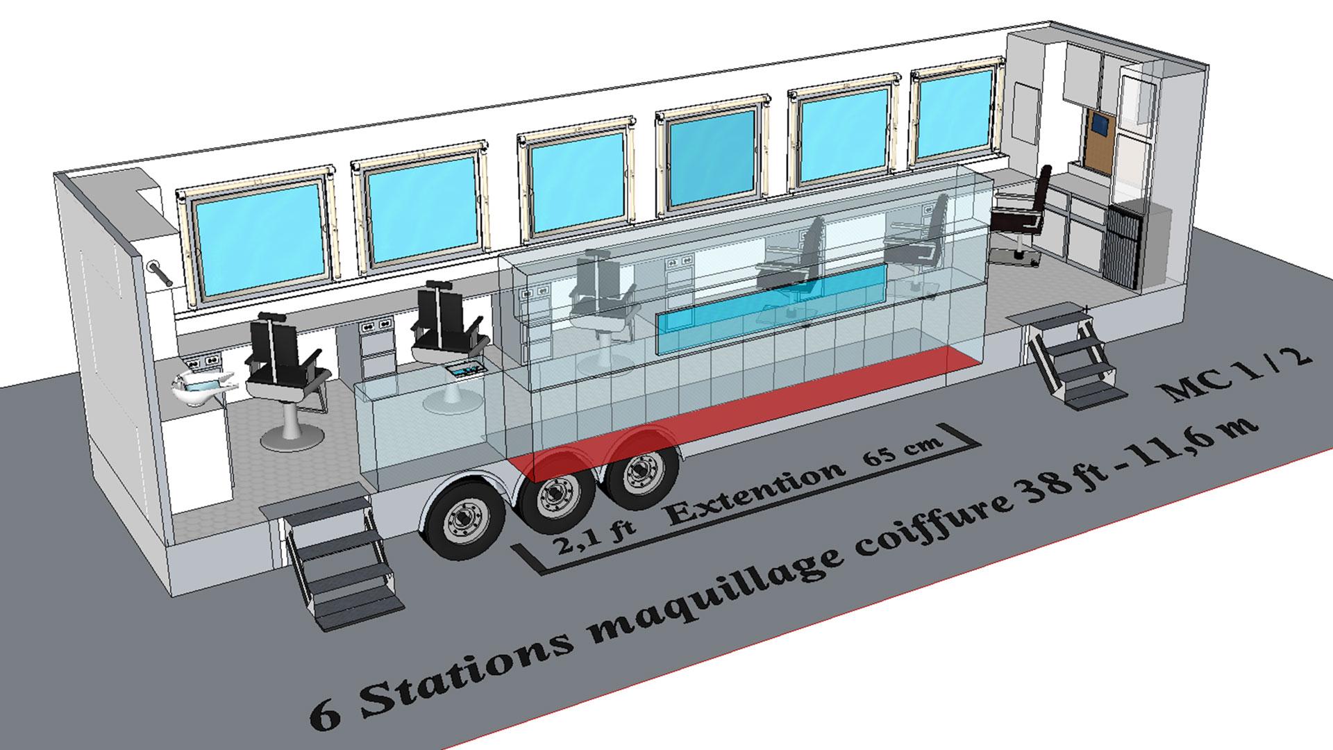 6 Stations MC1 modèle 3D