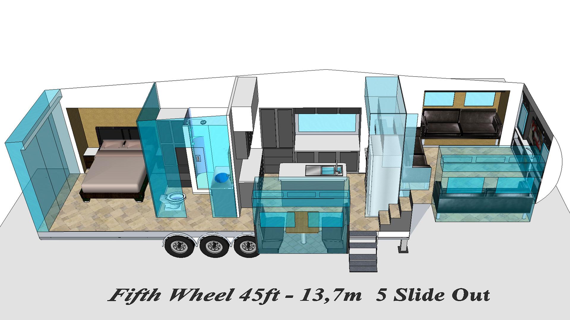 Fifth Wheel VIP modèle 3D