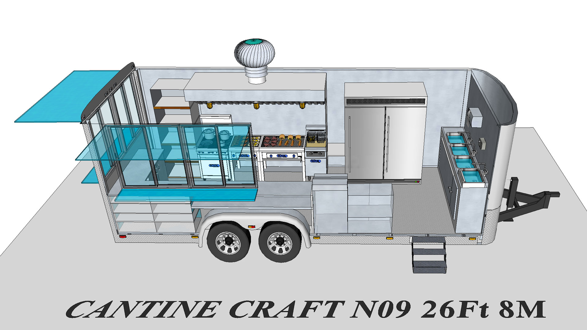 Craft 92 modèle 3D