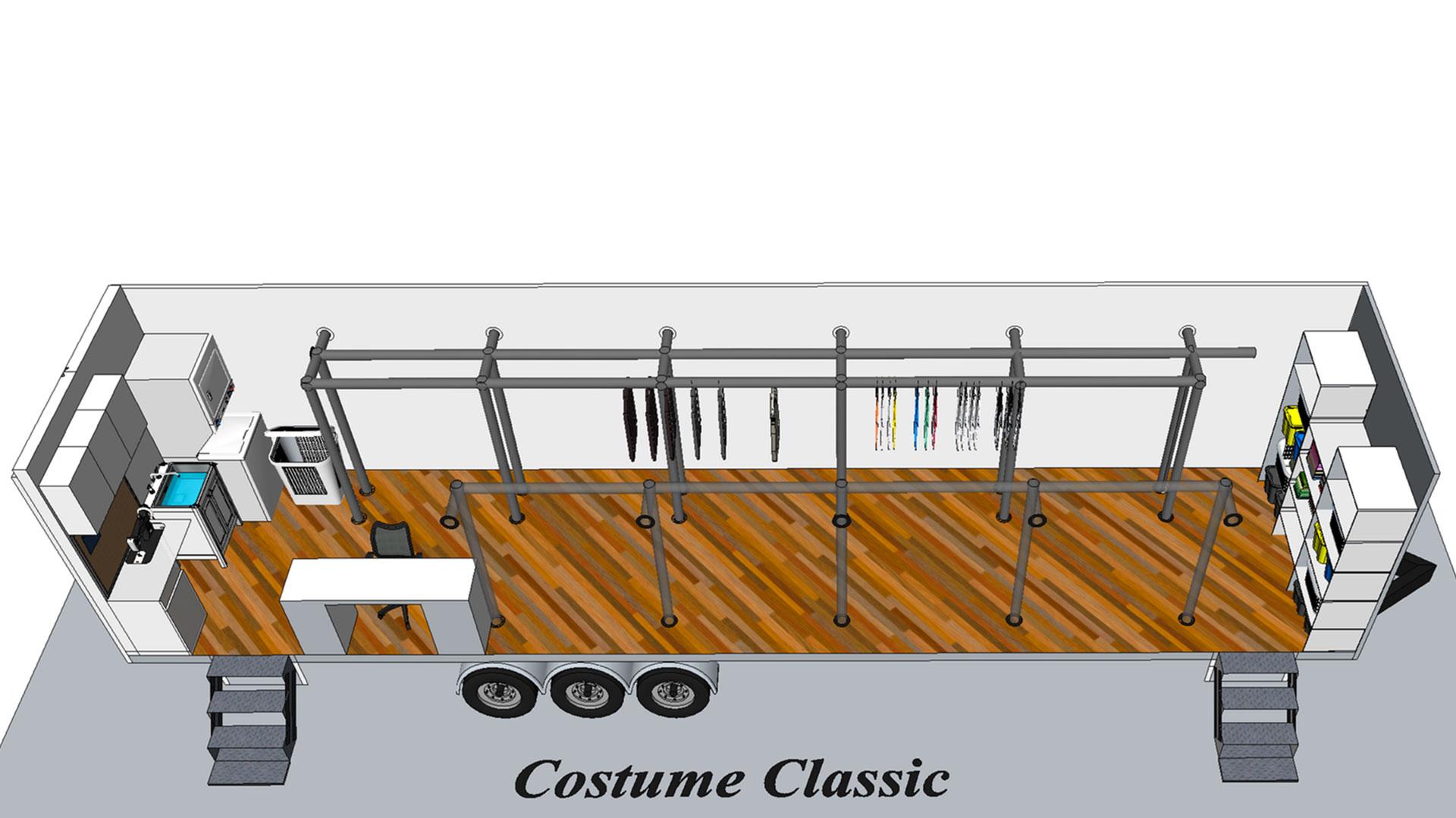 Costume Classic modèle 3D